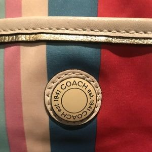 Coach travel/baby bag